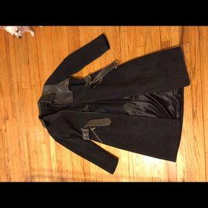 Rudsak wool and leather jacket size S